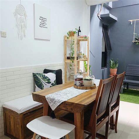 desain ruang keluarga menyatu  ruang makan minimalis
