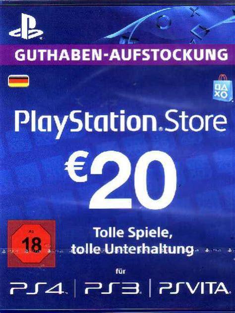 psn playstation network card  euro  kaufen