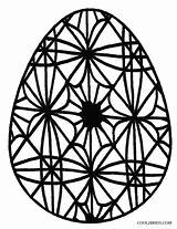 Easter Coloring Pages Egg Eggs Printable Cool2bkids sketch template