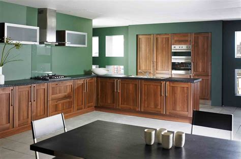 Wood Kitchen Built In Cabinet The Suitable Home Design