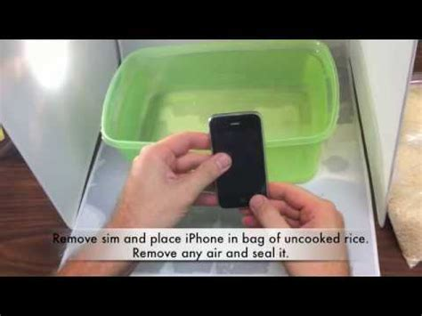 what to do if you drop your iphone in water what to do if you drop your iphone or any electronics in
