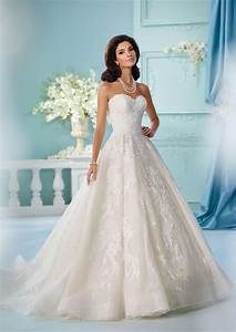 David tutera39s spring 2017 wedding dresses are straight for Wedding gown preservation davids bridal