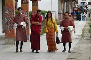 Volunteering in Bhutan: Unique to Bhutan - gho, kira, suja ...