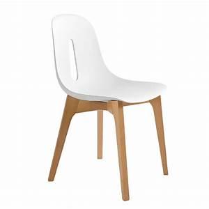 Chaise Bois Blanc : groupe sofive crealigne chaises woody a632 ~ Teatrodelosmanantiales.com Idées de Décoration