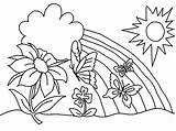 Coloring Flower Printable Pages sketch template
