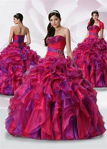 Luxurious Red and Purple Ball Gown Strapless Lace up Full Length Ruched Quinceanera Dresses