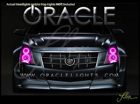 oracle   cadillac cts led halo rings headlights bulbs