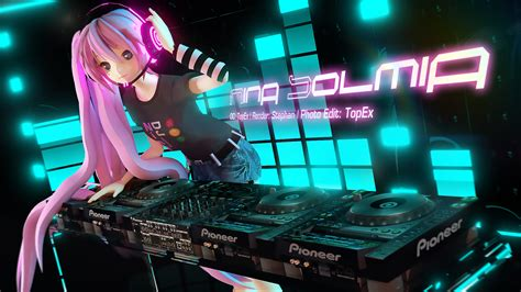 Anime Dj Wallpaper - dj solmia wallpaper by topex psy on deviantart