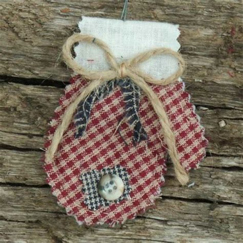 homespun christmas ornaments primitive quilted homespun ornaments jubilee homespun projects