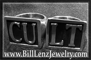 pin by bill lenz on bill lenz artisan biker jewelry With custom block letter biker rings