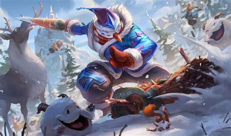 surrender    pbe update snowdown splash art