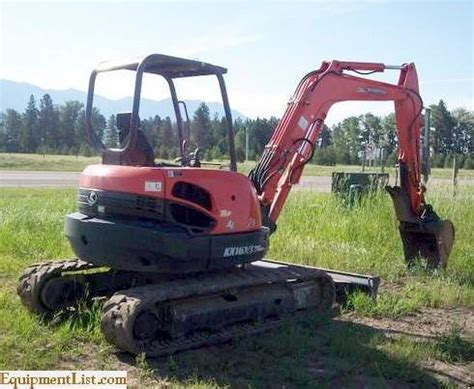kubota kx   mini excavator  sale classifieds equipment list