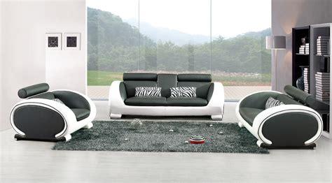 canapé cuir relax pas cher canape design blanc et noir