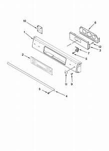 Kitchenaid Kgrs807sbl00 Gas Range Parts
