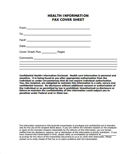 fax cover letter pdf 7 fax cover letter templates free sle exle