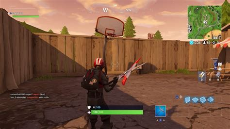 fortnite basketball courts hoops locations score