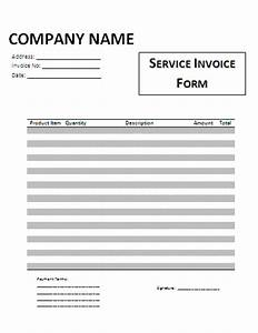 Lawn service blank invoices joy studio design gallery for Free printable service invoice