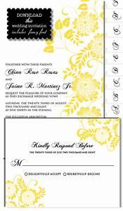 Dahlia invite templates the wedding chicks 39i do39 it for Free printable wedding invitations wedding chicks