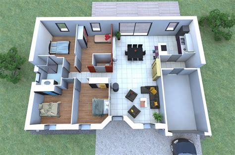 chambre garage imaginez votre maison 4 chambres garage disposez vos