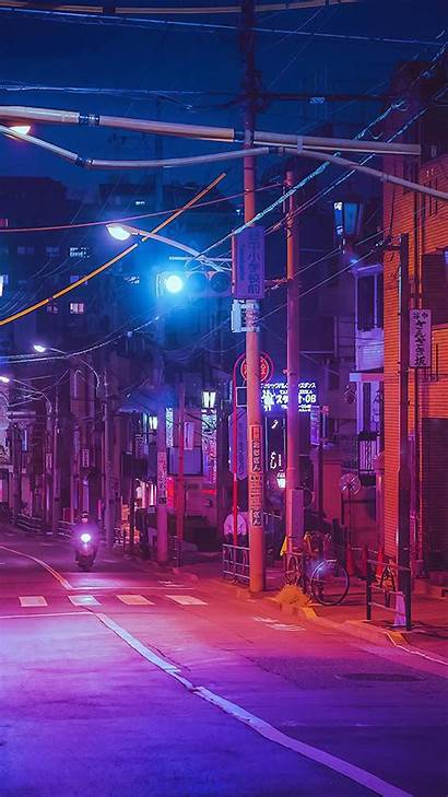 Japan Street Wallpapers Aesthetic Japanese Android Wallpapercave