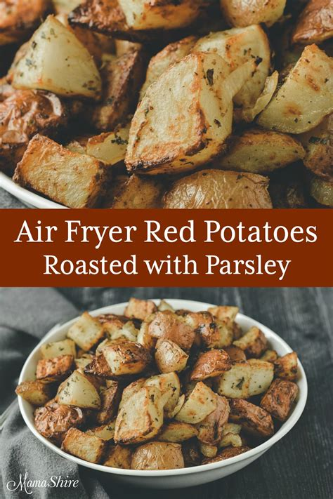 fryer air potatoes roasted mamashire parsley fried recipe hashtag instagram tag re