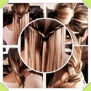 Chatain Meche Blonde : blog de extensionstopchrono83 blog de ~ Melissatoandfro.com Idées de Décoration