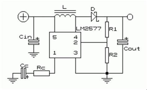 dc  dc voltage converter circuit scheme