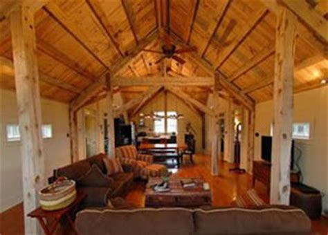 housebarn combo plans   open floor plan   living area   barn
