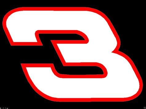 Dale Earnhardt Sr 3 Decal Sticker Buy 2 Get 3rd One Free