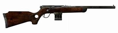 Fallout Rifle Varmint Vegas Guns Weapon