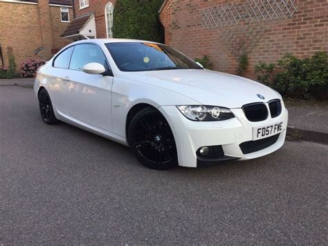 reg bmw   sport alpine white  black mv
