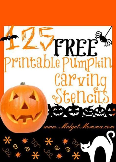 pumpkin stencil printables