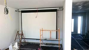 Beamer Leinwand Selber Bauen : multimedia wohnzimmer mit naturstein verblender selber bauen ~ Watch28wear.com Haus und Dekorationen