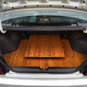 Evo Custom Hardwood Floor Trunk