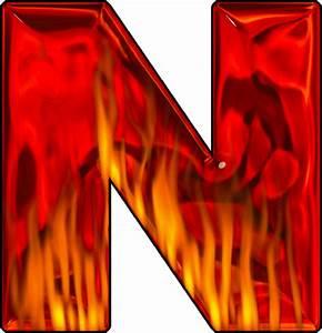 Presentation Alphabets: Hot Letter N