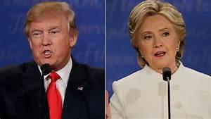 Trump And Clinton U0026 39 S Big