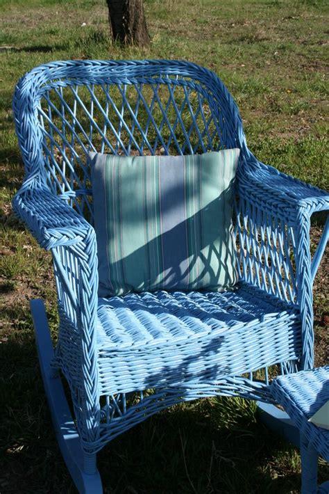 wicker rocking chair hopeful homemaker