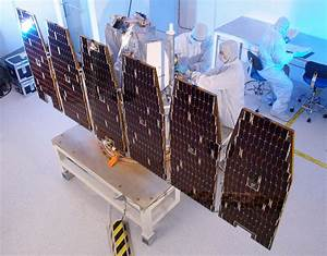 NASA - AIM Solar Array Deployment