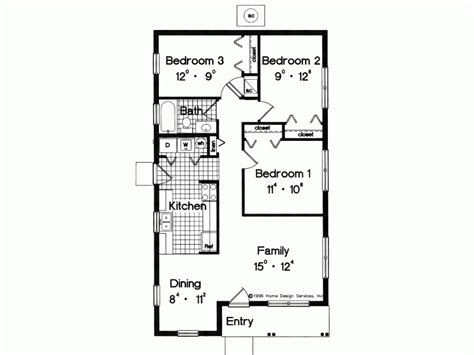 Cheap Dining Room Sets For 4 by Eplans Prairie House Plan Simple Yet Adequate 996