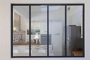 Verriere Interieure Metallique : verri re sur mesure de style atelier d 39 artiste d 39 int rieur ~ Premium-room.com Idées de Décoration