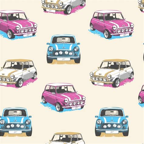 Muriva Gt Mini Cooper Rally Cars Childrens Kids Wallpaper