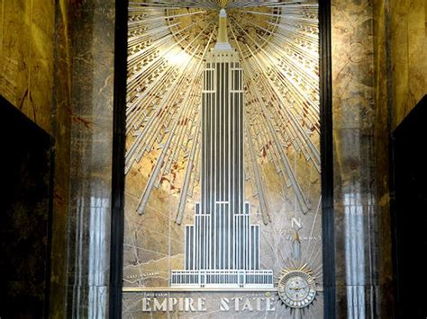 empire state buildings iconic art deco style  views