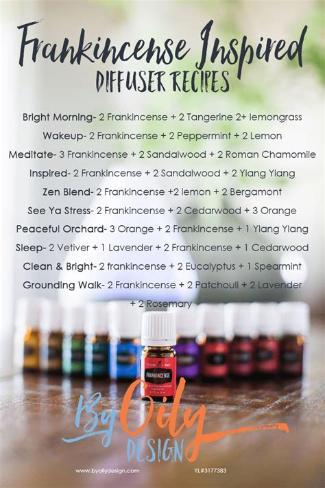 10 Frankincense Diffuser blends you will want to try right