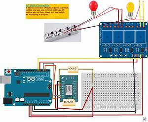 Control Home Appliance From Internet Using Arduino And