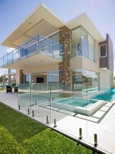 17, Stunning, Glass, Balcony, House, Design, Ideas