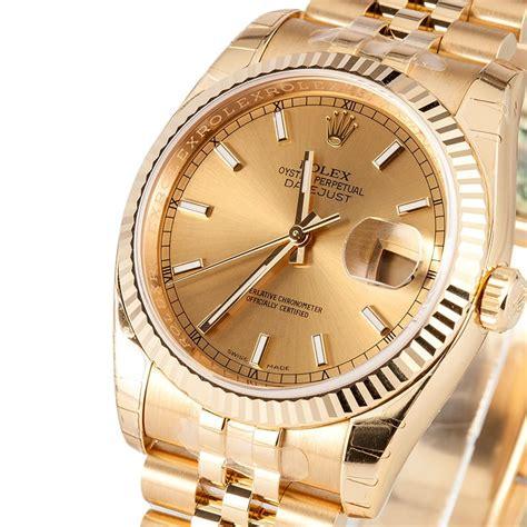 New Rolex 18k Gold Datejust 116238 - Save $1000