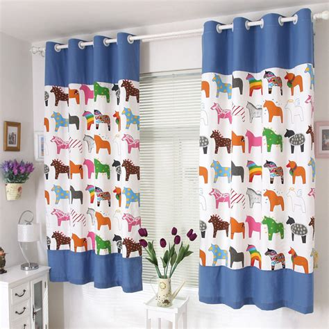 5 kinds of boys room curtains
