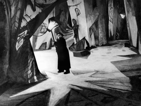 The Cabinet Of Doctor Caligari by 1919 The Cabinet Of Dr Caligari Set Design Cinema