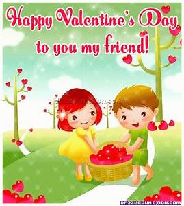 Happy Valentine's Day To You My Friend Pictures, Photos ...
