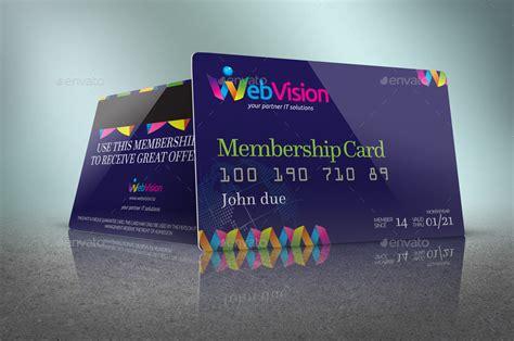 membership card designs  examples psd ai examples
